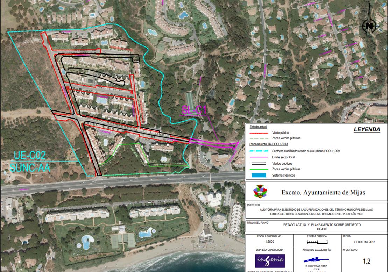 Urbanizacion Calahonda Royale, en el límite con Marbella (1)